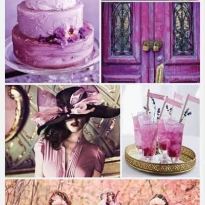 Wedding Color Palette: Radiant Orchid