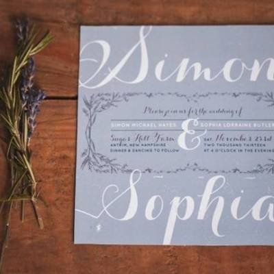 Lavender + Rosemary Winter Wedding Inspiration {Blue Jar Events + Jennifer Bakos Photography}