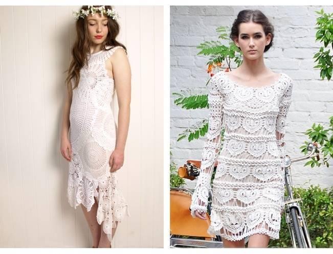 Crochet Wedding Dress Inspiration 6
