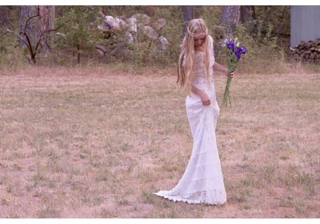 Crochet Wedding Dress Inspiration 8