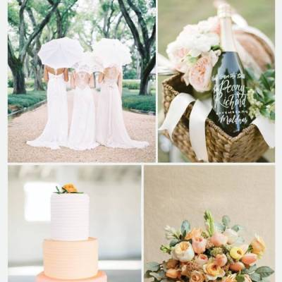 Wedding Inspiration Board #25: Southern Belle