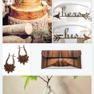 Wedding Inspiration Board #26: Rustic Wood