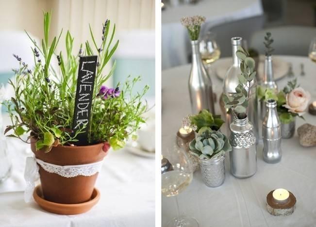 Simple DIY Wedding Centerpiece Ideas 8