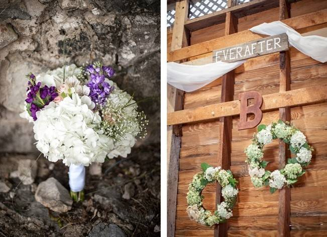 Turquoise + Purple Country Wedding {Bethany Snyder Photography} 17