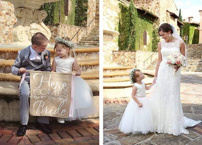Vintage-Inspired Wedding at Bella Collina {Heather Rice Photography} 10