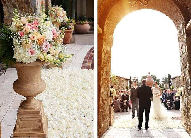 Vintage-Inspired Wedding at Bella Collina {Heather Rice Photography} 12
