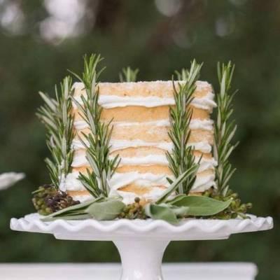 Wedding Flower Inspiration: Fresh Herbs