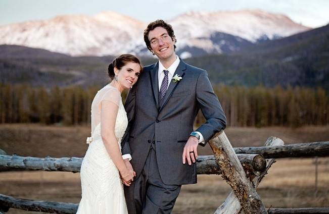Woodsy Colorado Mountain Wedding {Karen High Photography} 18