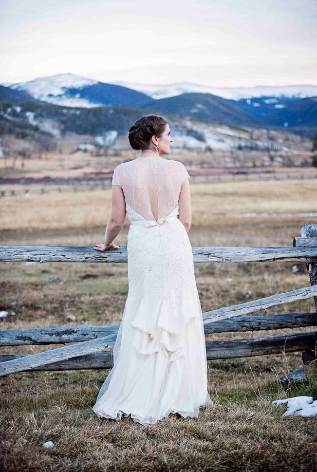 Woodsy Colorado Mountain Wedding {Karen High Photography} 21