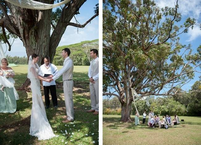 Pastel Oahu Destination Wedding {Rachel Robertson Photography} 4