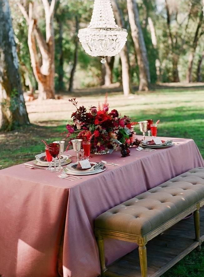 Elegant Red Alfresco Wedding Inspiration {Carmen Santorelli Photograhy} 13
