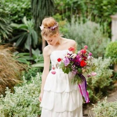 Bridal Style: Bohemian Ballet in the Garden