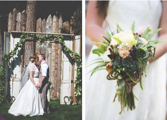 Rustic Sequoia National Park Wedding at {Carly Short Photography} 11