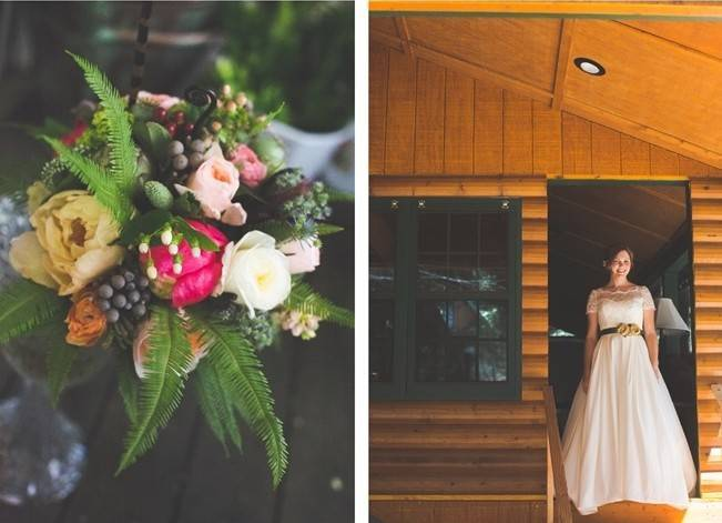 Rustic Sequoia National Park Wedding at {Carly Short Photography} 2