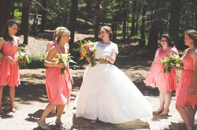 Rustic Sequoia National Park Wedding at {Carly Short Photography} 8