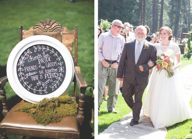 Rustic Sequoia National Park Wedding at {Carly Short Photography} 9
