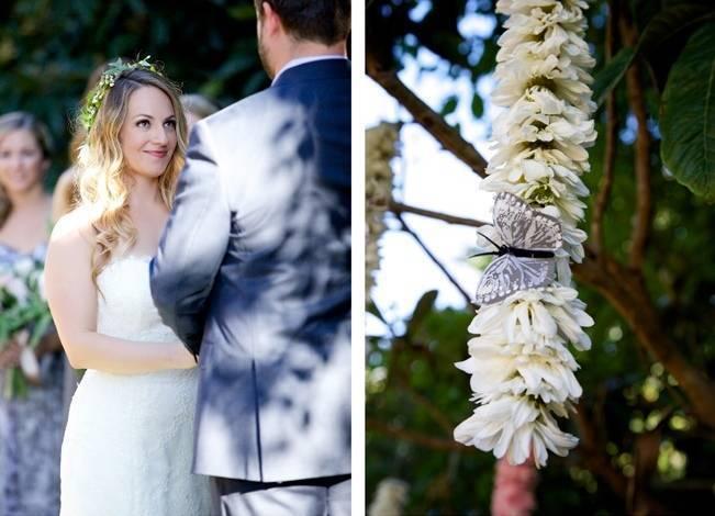 Backyard Vintage Boho Wedding {Christina O'Brien Photography} 13