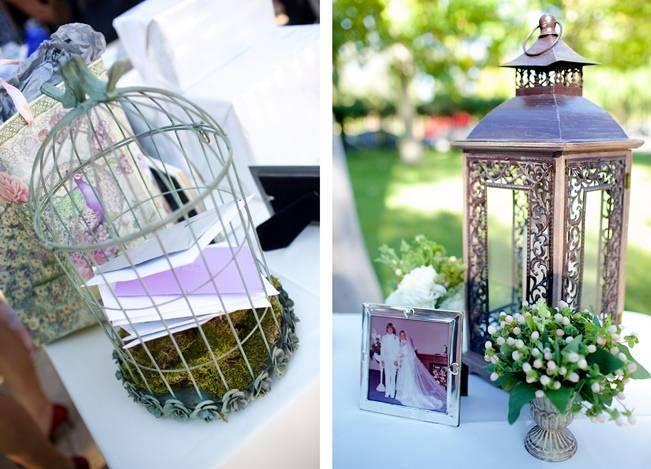 Backyard Vintage Boho Wedding {Christina O'Brien Photography} 15