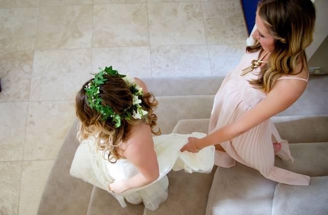 Backyard Vintage Boho Wedding {Christina O'Brien Photography} 3