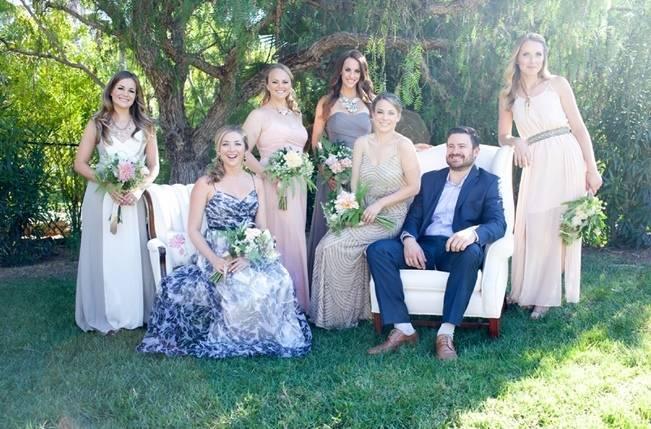 Backyard Vintage Boho Wedding {Christina O'Brien Photography} 7