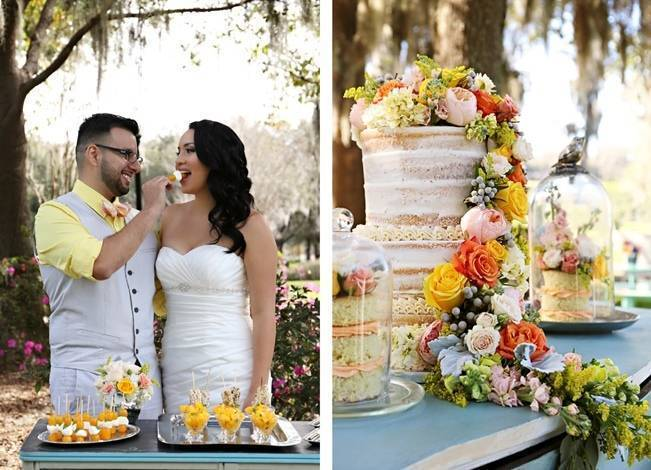 Fun Bright Wedding + Ideas for the Little Ones {Heather Rice Photography} 4