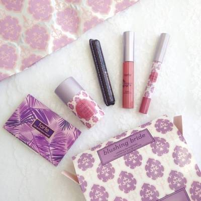 Review: Tarte Blushing Bride Wedding Day Essentials Kit