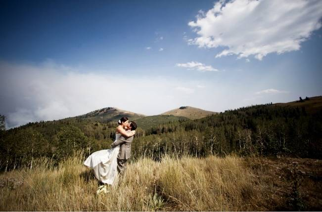 Green + Ivory Mountain Wedding at Deer Valley Resort 10