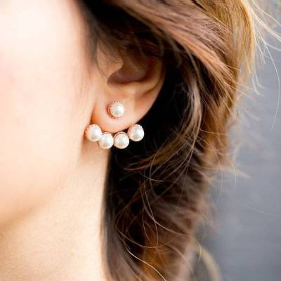 Trending Ear Jackets + Crawlers + 360 Studs for Brides