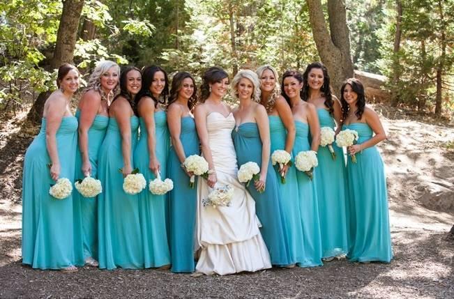 Rustic Woodland Mountain Wedding {Gilmore Studios} 5