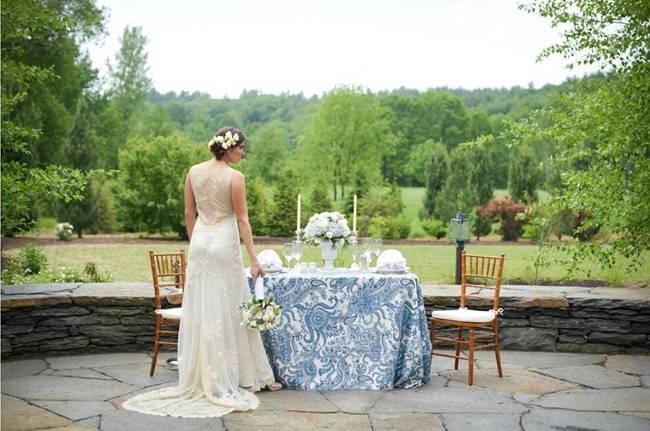 Blue + Yellow Country Chic Bridal Inspiration {Dani Fine Photography} 21