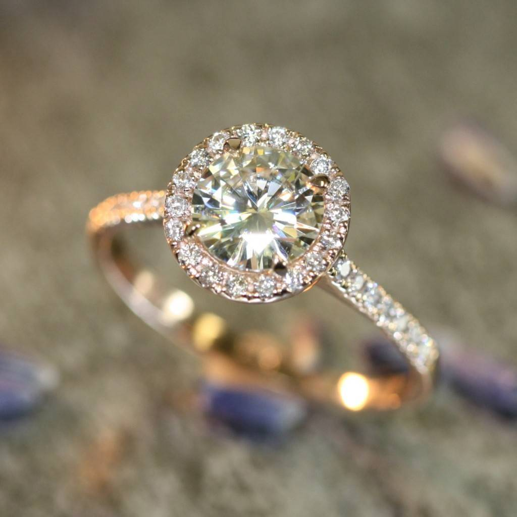 Moissanite Engagement Rings Info And Inspiration