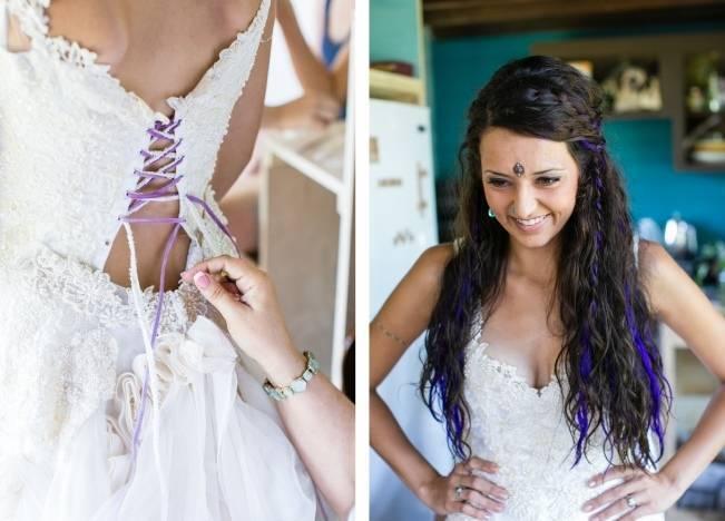 DIY Barefoot Summer Wedding {M and E Photo Studio} 2