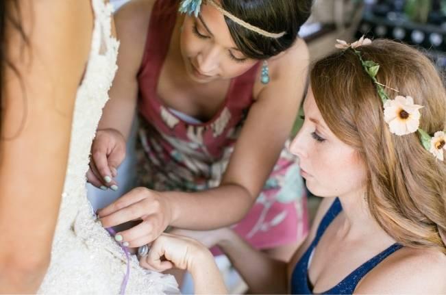 DIY Barefoot Summer Wedding {M and E Photo Studio} 3