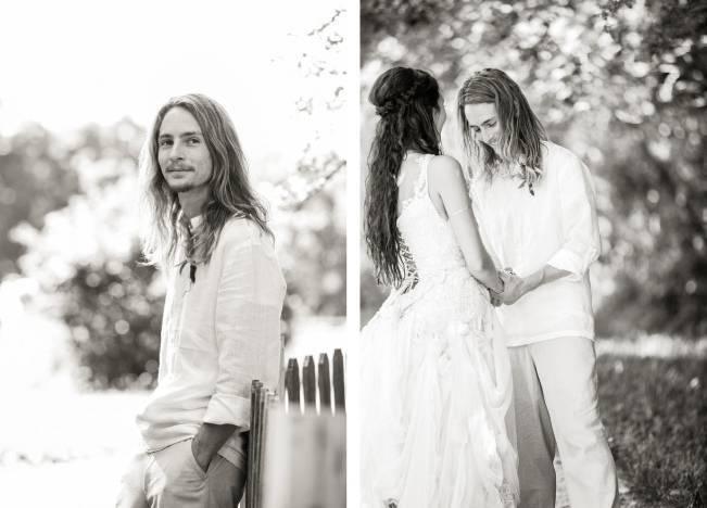 DIY Barefoot Summer Wedding {M and E Photo Studio} 7