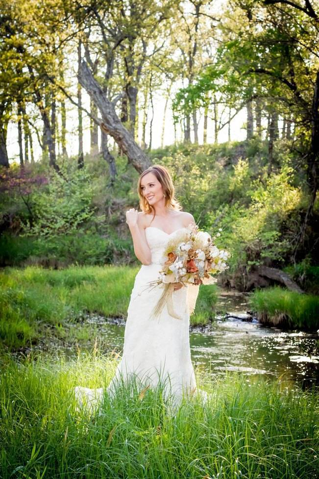 Natural Autumn Bridal Look {C.W. Photography} 8