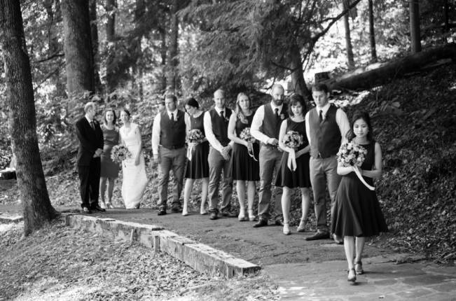 Nature Inspired wedding at Hawk's Nest State Park {Melissa Perella Photography} 11
