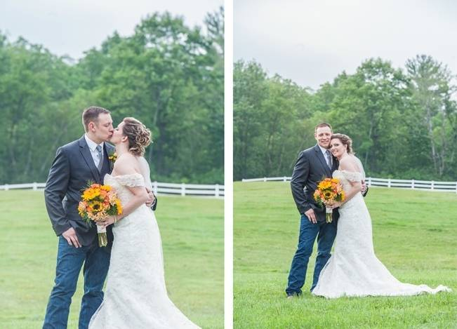 Rustic Pennsylvania Sunflower Wedding at Friedman Farms 16