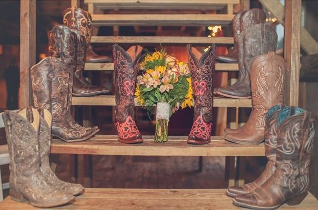 Rustic Pennsylvania Sunflower Wedding at Friedman Farms 18