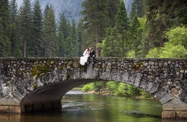 Misty Purple + Green Yosemite Valley Wedding {Duende Photo} 8