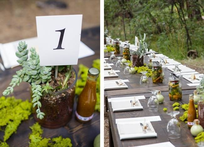 Colorado Mountain Wedding with Farm Table Reception 12