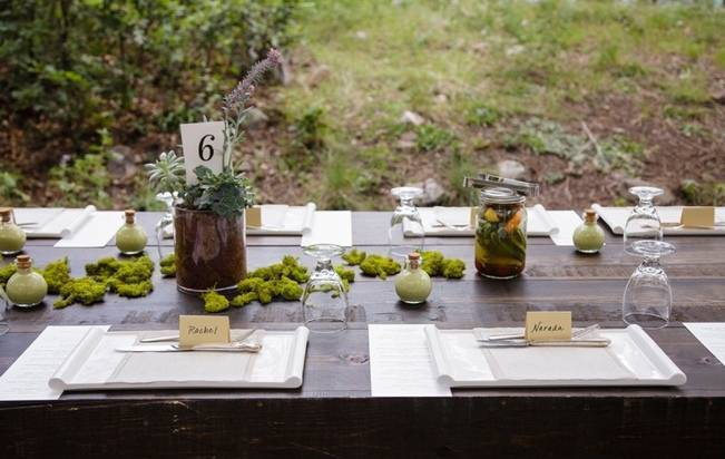 Colorado Mountain Wedding with Farm Table Reception 13