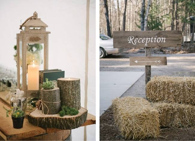 Deer Themed Woodland Wedding {Allie Siarto Photography} 15