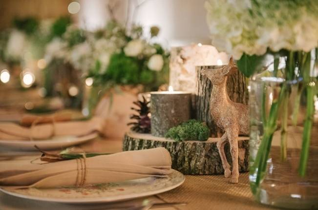 Deer Themed Woodland Wedding {Allie Siarto Photography} 19