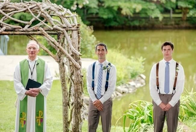 Colorful + Earthy North Carolina Farm Wedding 10