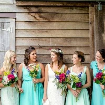 Colorful + Earthy North Carolina Farm Wedding