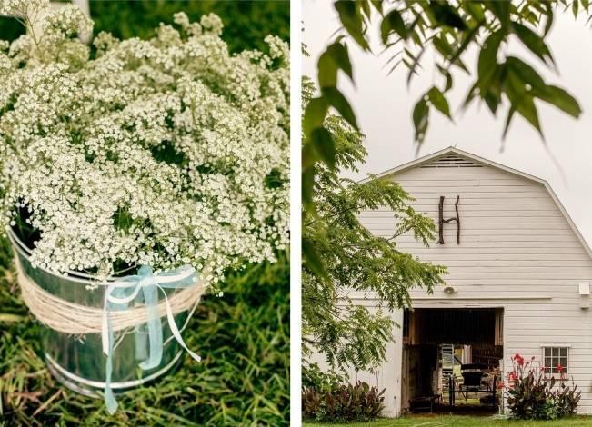 Colorful + Earthy North Carolina Farm Wedding 24