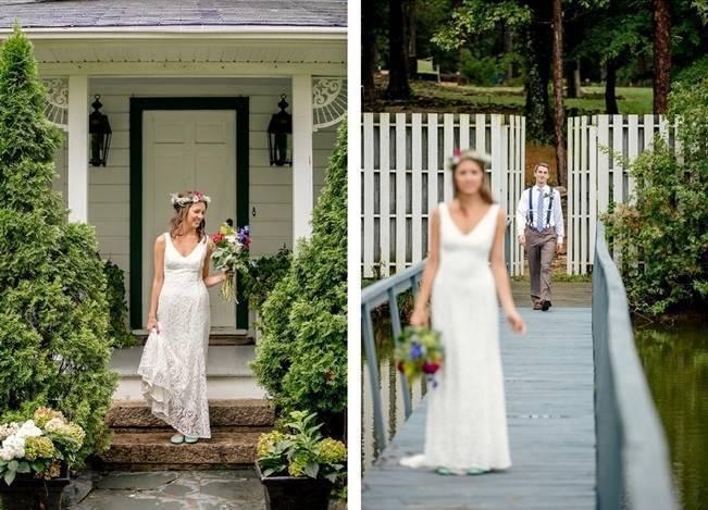Colorful + Earthy North Carolina Farm Wedding 5