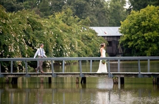 Colorful + Earthy North Carolina Farm Wedding 6