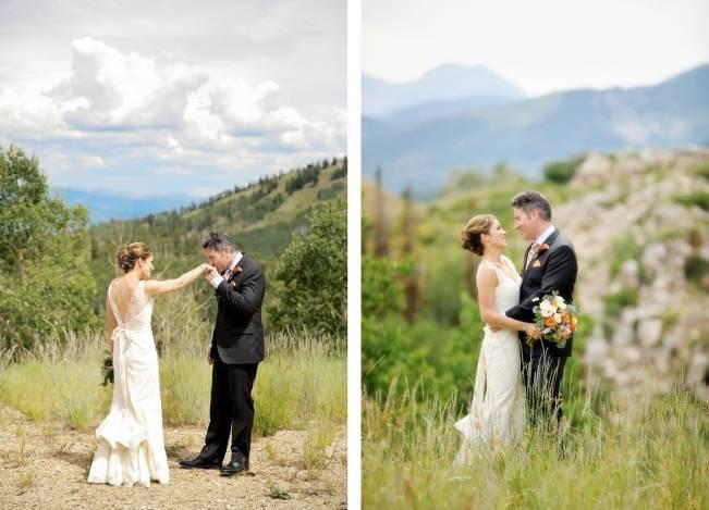 Mountain Chic Destination Wedding at Deer Valley, Utah 7