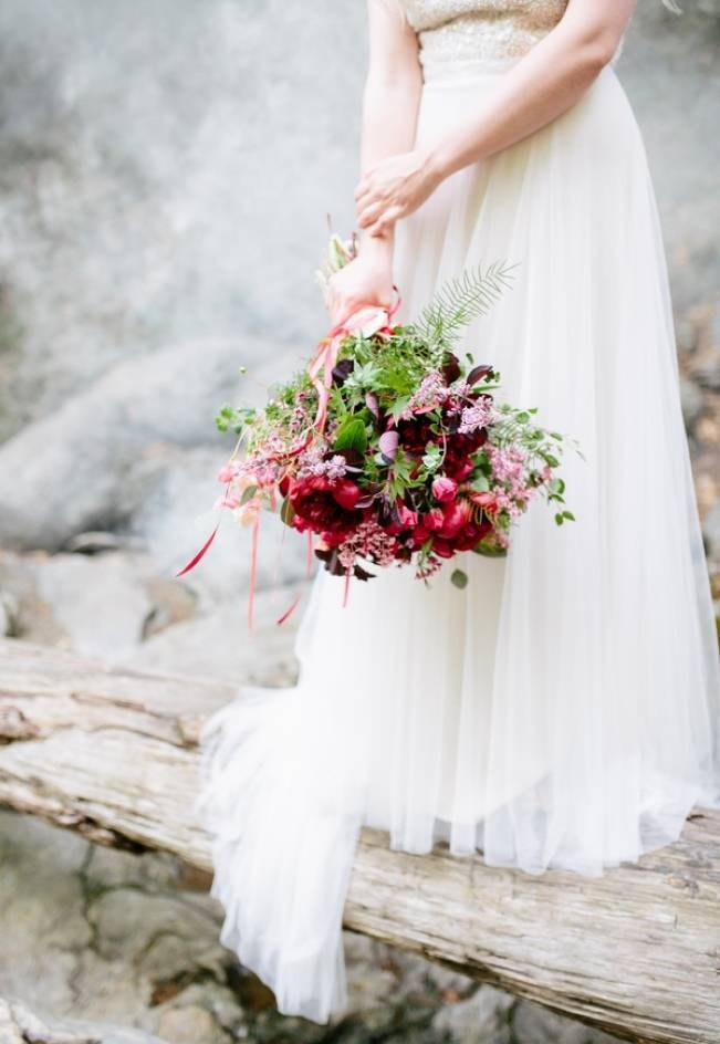 Styled Vermont Waterfall Elopement 2